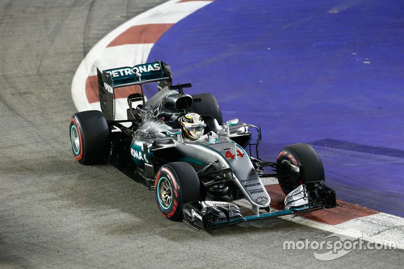 GP de Singapur 2016 ((Marina Bay) vs Rosberg (0.704s)