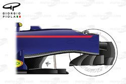 Red Bull RB12 opened chassis, side view