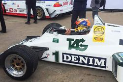 Karun Chandhok in the FW08C