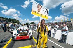 Chica de la parrilla, Tom Blomqvist, BMW Team RBM, BMW M4 DTM