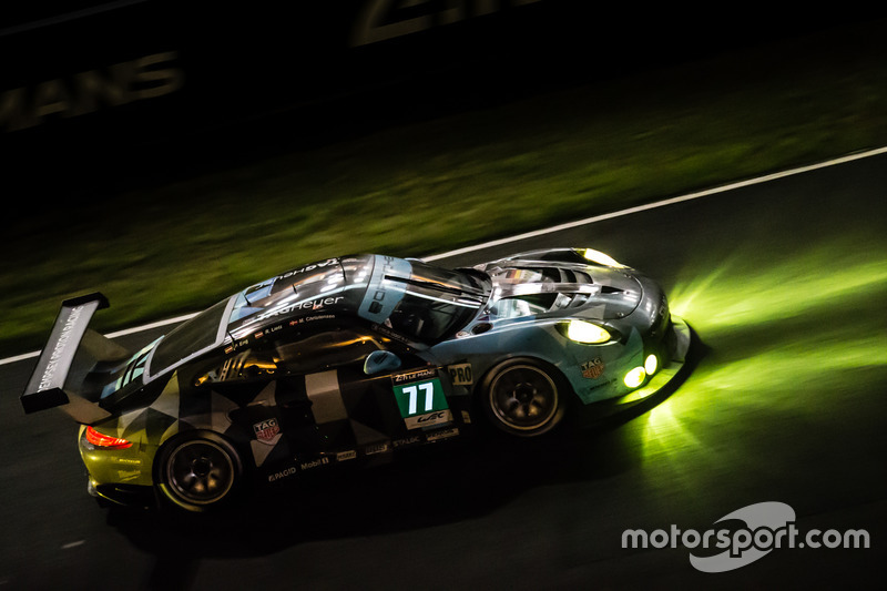 31. #77 Dempsey Proton Competition Porsche 911 RSR: Richard Lietz, Michael Christensen, Philipp Eng