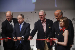 FIA president Jean Todt and other dignitaries launch the FIA Sports Conference