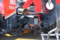 Ferrari SF15-T, dettaglio del diffusore