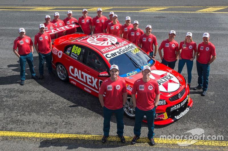 Craig Lowndes und Steve Richards, Triple Eight Race Engineering, Holden