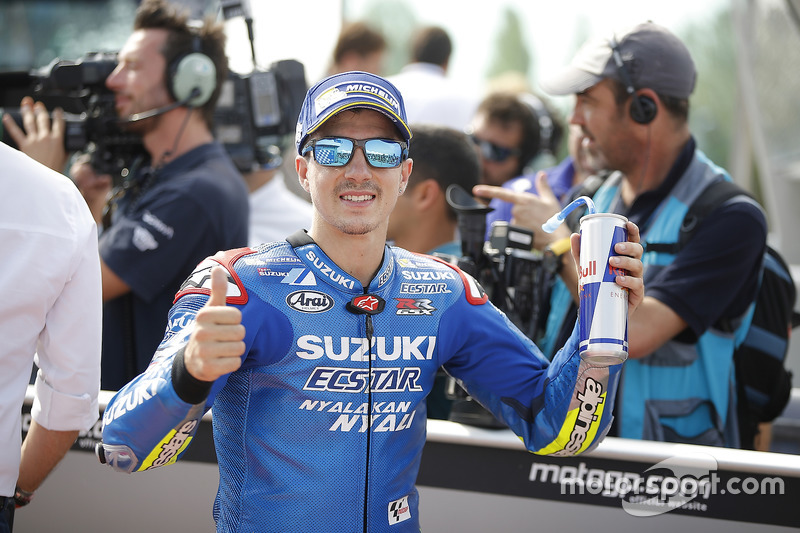 Maverick Viñales, vencedor da última corrida manteve a boa fase e sairá em terceiro neste domingo.