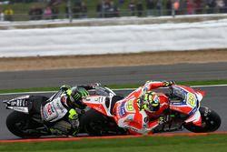 Andrea Iannone, Ducati Team, Cal Crutchlow, Team LCR Honda