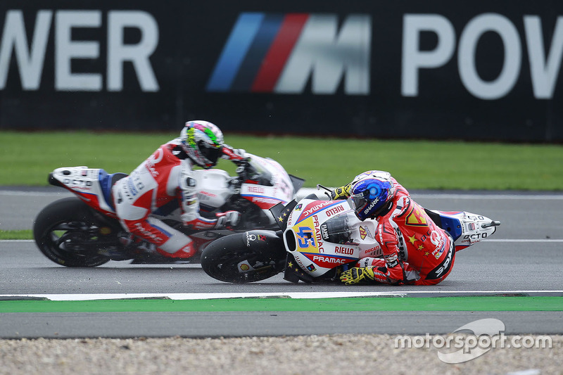 Scott Redding, Pramac Racing crash