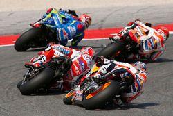 Dani Pedrosa, Repsol Honda Team, Andrea Dovizioso, Ducati Team, Marc Marquez, Repsol Honda Team