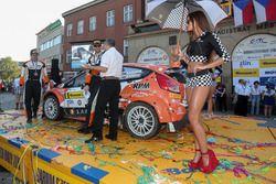 Алексей Лукьянюк и Алексей Арнаутов, Ford Fiesta R5, Ралли Злин 2016 года