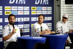 Press Conference: Timo Glock, BMW Team RMG, BMW M4 DTM;Gary Paffett, Mercedes-AMG Team ART, Mercedes-AMG C63 DTM; Jamie Green, Audi Sport Team Rosberg, Audi RS 5 DTM