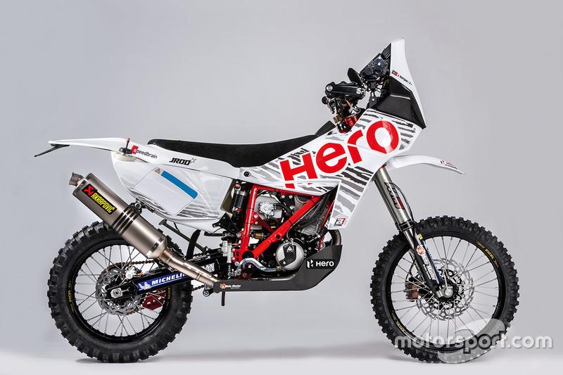 Moto de Joaquim Rodrigues, Hero MotoSports Team Rally