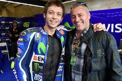 Valentino Rossi, Yamaha Factory Racing con Matt Leblanc