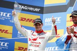 Podio: Norbert Michelisz, Honda Racing Team JAS, Honda Civic WTCC
