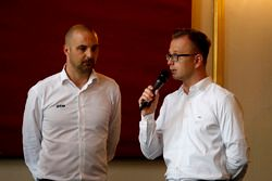 Heiko Frasch, Executive Director ITR and Lars Soutschka, ADAC Motorsport