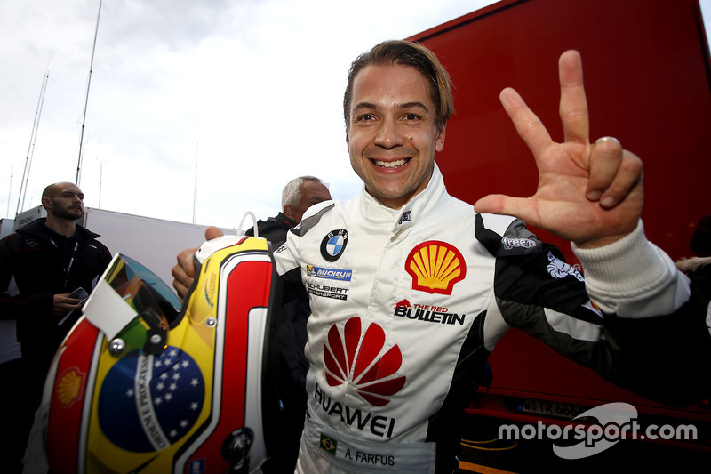 second place in Qualifying: #18 Schubert Motorsport, BMW M6 GT3: Augusto Farfus