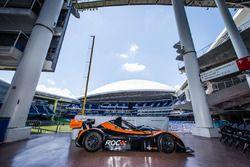 De Radical die deelneemt aan de Race of Champions 2017 in Merlins Park, Miami