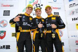 Christian Krognes, Victor Bouveng, Jörg Müller, Walkenhorst Motorsport, BMW M6 GT3