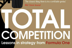Ross Brawn ve Adam Parr kitap kapağı, Total Competition: Lessons in Strategy from Formula One