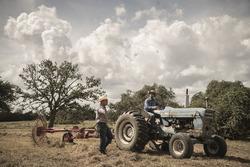 Daniel Ricciardo, Red Bull Racing werkt op een ranch in Austin