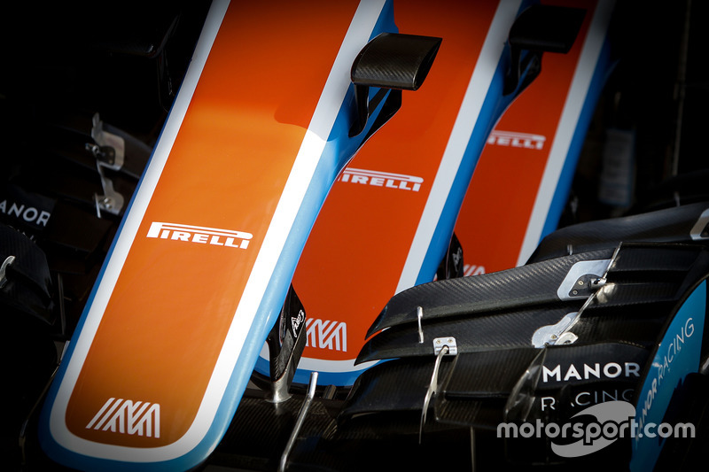 Manor Racing MRT05 nosecones