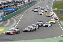 Start action, Miguel Molina, Audi Sport Team Abt Sportsline, Audi RS 5 DTM leads
