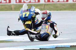 Lorenzo Petrarca, 3570 Team Italia crash