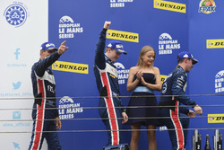 Podium: second place LMP3 #3 United Autosports Ligier JSP3 - Nissan: Matt Bell, Mark Patterson, Wayn