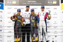 Podium: Race winner #9 Team Marc VDS Renault RS01: Fabian Schiller; second place #15 Team Marc VDS Renault RS01: Fran Rueda; third place #3 R-ace GP Racing Renault RS01: Fredrik Blomsted