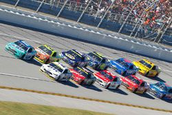 Ricky Stenhouse Jr., Roush Fenway Racing Ford, Brad Keselowski, Team Penske Ford