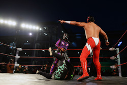 Lucha Libre wrestling in the paddock