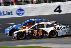 Landon Cassill, Front Row Motorsports Ford and David Ragan, Front Row Motorsports Ford