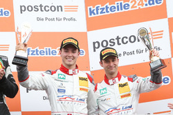 Podium: 3. #2 Montaplast by Land-Motorsport, Audi R8 LMS: Jeffrey Schmidt, Christopher Haase