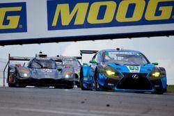 #14 3GT Racing Lexus RCF GT3: Scott Pruett, Sage Karam, #70 Mazda Motorsports Mazda DPi: Joel Miller