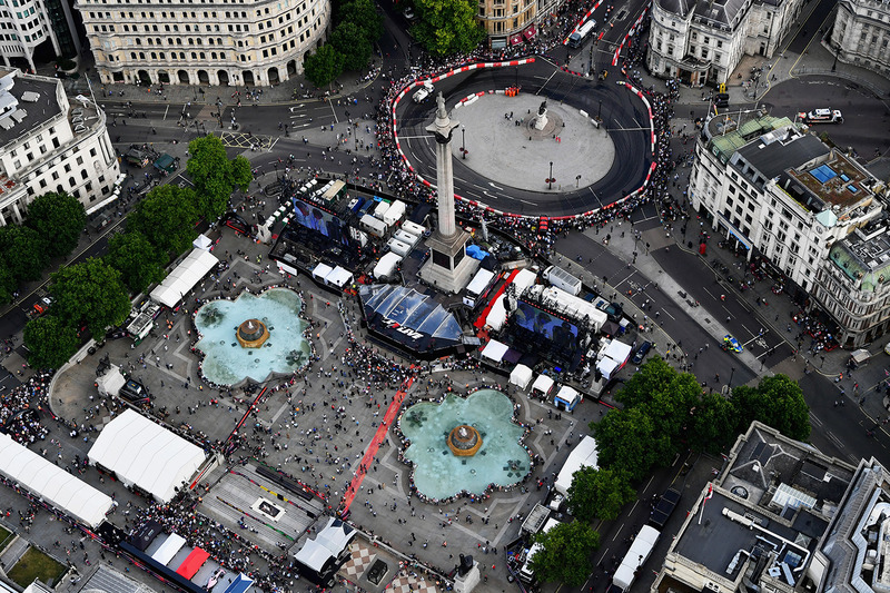 Vista aérea del F1 Live London