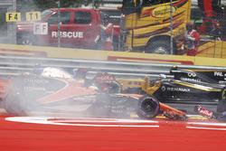 Max Verstappen, Red Bull Racing RB13, Fernando Alonso, McLaren MCL32, Daniil Kvyat, Scuderia Toro Ro