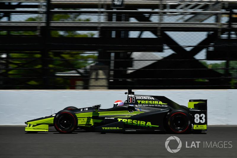 16. Charlie Kimball, Chip Ganassi Racing, Honda