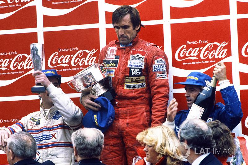 De lá para cá, nenhum outro piloto chegou a conquistar novo título, mas Reutemann foi ao lugar mais alto do pódio em 12 vezes.