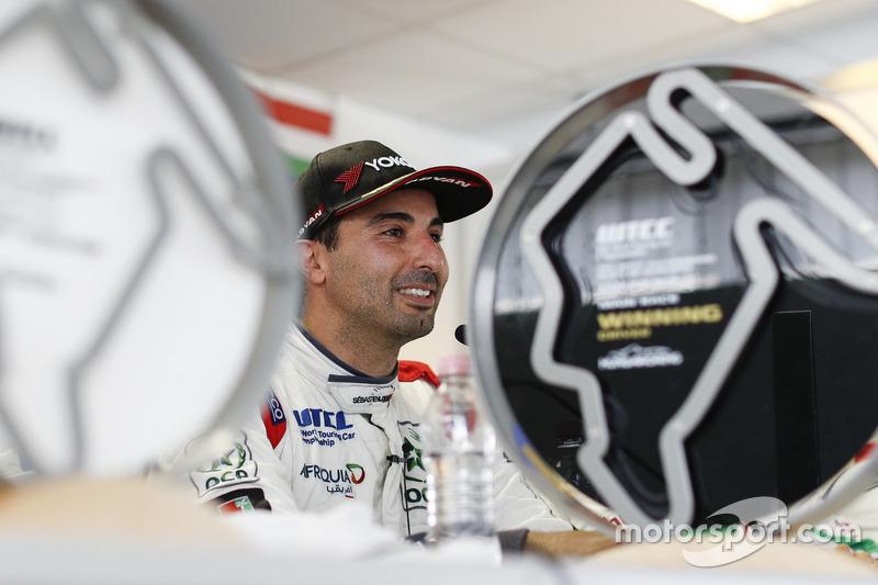 Persconferentie, Mehdi Bennani, Sébastien Loeb Racing, Citroën C-Elysée WTCC