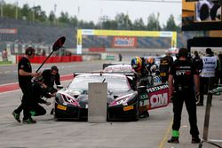Boxenstopp, #7 HB Racing WDS Bau, Lamborghini Huracán GT3: Norbert Siedler, Marco Mapelli