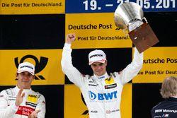 Podio: Ganador de la carrera Lucas Auer, Mercedes-AMG Team HWA, Mercedes-AMG C63 DTM