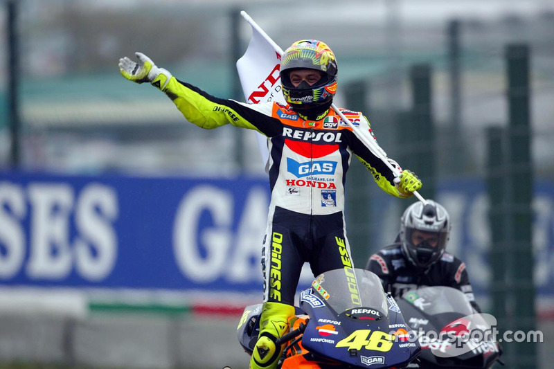 355 Punkte: Valentino Rossi 2002 (MotoGP)