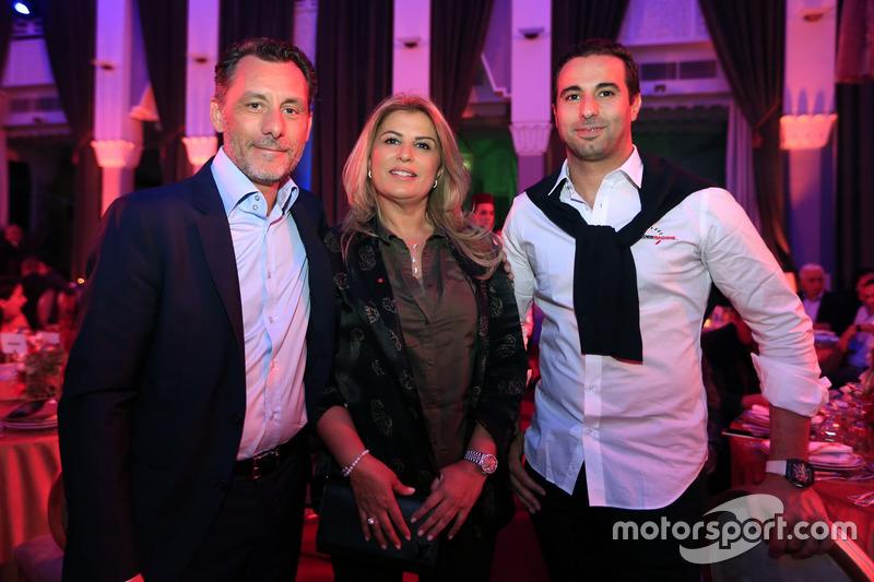 François Ribeiro, Eurosport, Motorsportdirektor; Mehdi Bennani, Sébastien Loeb Racing, Citroën C-Elysée WTCC