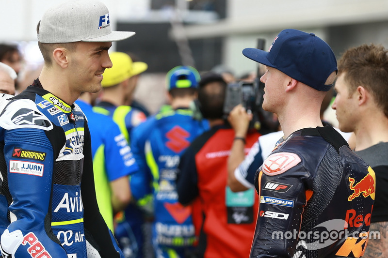 Loris Baz, Avintia Racing; Bradley Smith; Red Bull KTM Factory Racing