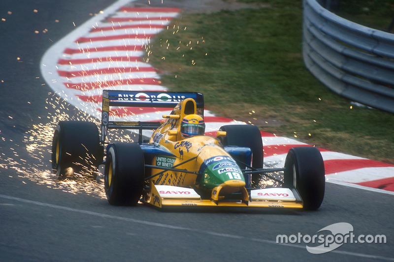 3 - Roberto Moreno, Benetton - 1991