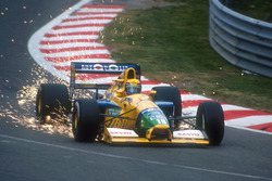 Funkenflug: Roberto Moreno, Benetton B191