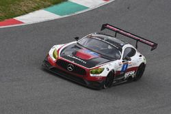#1 Hofor-Racing, Mercedes AMG GT3: Michael Kroll, Chantal Kroll, Roland Eggimann, Kenneth Heyer, Chr