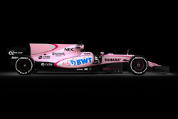 Sahara Force India VJM10 в цветах BWT