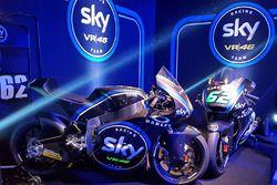 Moto2 las motos de Francesco Bagnaia y Stefano Manzi