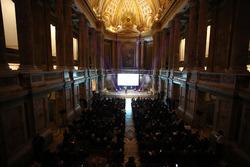 Atmosfera nella Cappella Palatina della Reggia di Caserta