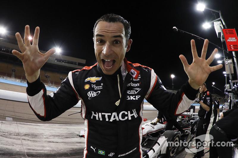 9. Helio Castroneves, Team Penske Chevrolet